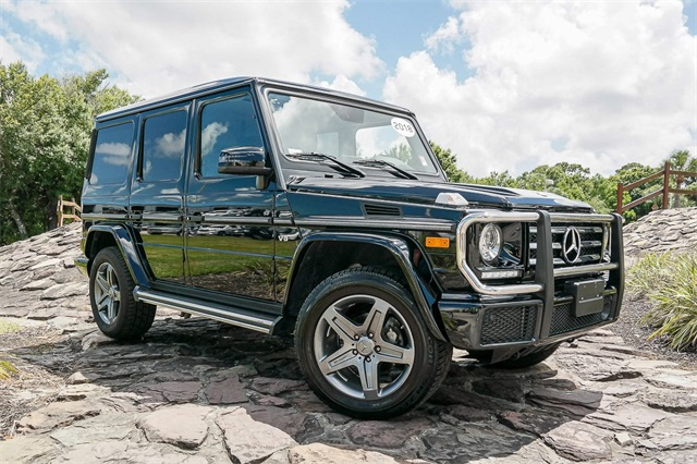 Pre-Owned 2018 Mercedes-Benz G-Class G 550